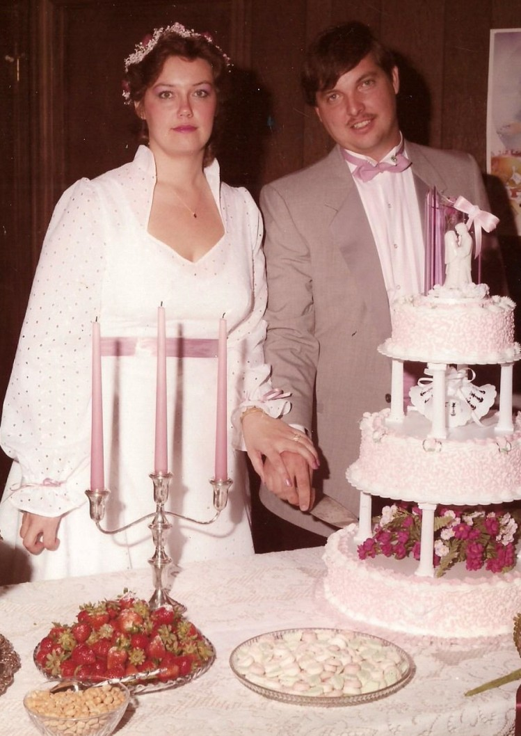Steve and Beverly 1984